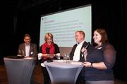 v.l.n.r.: Dirk Kursim, Stefanie Frank, Torsten Haunert, Melanie Meyer