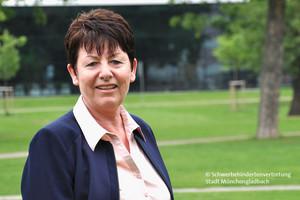 Vertrauensperson Gisela Kuhlen (Foto: © Schwerbehindertenvertretung Stadt Mönchengladbach)