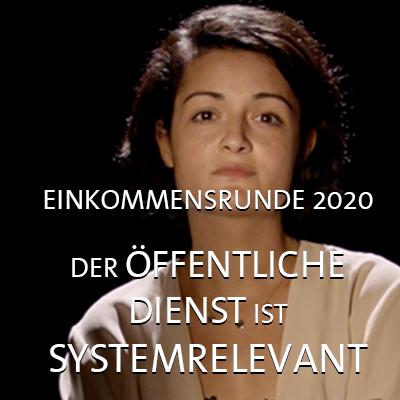 komba Film zur Einkommensrunde 2020: Der öffentliche Dienst ist systemrelevant