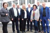 Die Verhandlungskommission des dbb mit dem dbb Bundesvorsitzenden Ulrich Silberbach (4.v.r.) und dem komba Bundesvorsitzenden Andreas Hemsing. (2.v.r.). © dbb