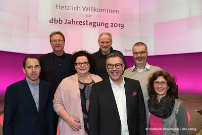 Der Geschäftsführende Vorstand der komba gewerkschaft nrw (Foto: © Friedhelm Windmüller / dbb verlag)
